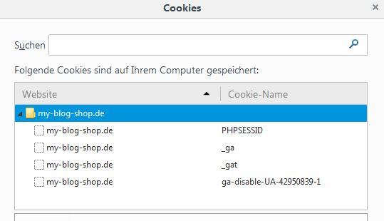 Google Analytics opt-out Cookie