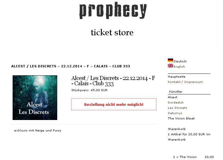 Screenshot Prophecy